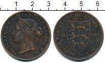Изображение Монеты Остров Джерси 1/12 шиллинга 1888 Медь  Виктория.