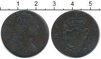 Изображение Монеты Ирландия 1/2 пенни 1776 Медь