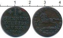 Изображение Монеты Брауншвайг-Люнебург 1 пфенниг 1804 Медь