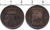 Изображение Монеты Нидерланды 1 цент 1876 Медь XF