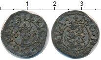 Изображение Монеты Дания 1 скиллинг 0 Серебро  17 век