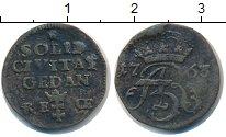Изображение Монеты Речь Посполита 1 солид 1763 Медь