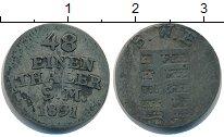 Изображение Монеты Саксония 1/48 талера 1831 Серебро