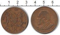 Изображение Монеты Кения 10 центов 1968 Медь