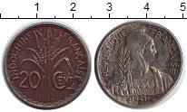 Изображение Монеты Индокитай 20 центов 1941 Медно-никель