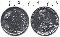 Изображение Монеты Турция 2 1/2 лиры 1979 Медно-никель XF