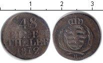 Изображение Монеты Саксония 1/48 талера 1812 Серебро VF