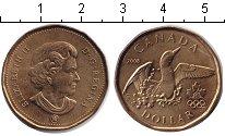 Изображение Монеты Канада 1 доллар 2008  UNC-