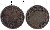 Изображение Монеты Бавария 6 крейцеров 1810 Серебро VF Максимилиан IV Иосиф