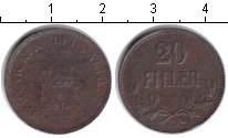 Изображение Монеты Венгрия 20 филлеров 1916 Железо  Корона святого Стефа