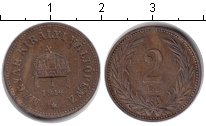 Изображение Монеты Венгрия 2 филлера 1914 Медь  Корона святого Стефа