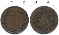 Изображение Монеты Нидерланды 2 1/2 цента 1883 Медь VF