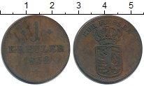 Изображение Монеты Гессен 1 крейцер 1832 Медь