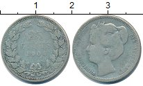 Изображение Монеты Нидерланды 25 центов 1904 Серебро