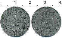 Изображение Монеты Бавария 6 крейцеров 1842 Серебро XF
