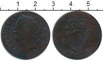 Изображение Монеты Ирландия 1/2 пенни 1760 Медь VF Георг II