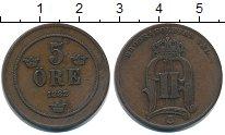Изображение Монеты Швеция 5 эре 1882 Медь VF