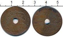 Изображение Монеты Индокитай 1 сантим 1930 Медь XF