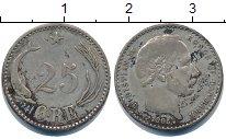 Изображение Монеты Дания 25 эре 1905 Серебро