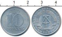 Изображение Монеты ГДР 10 пфеннигов 1963 Алюминий XF