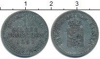 Изображение Монеты Гессен 1 грош 1861 Серебро