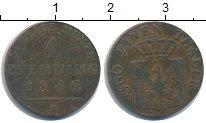 Изображение Монеты Пруссия 1 пфенниг 1842 Медь VF