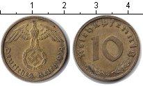 Изображение Монеты Третий Рейх 10 пфеннигов 1939  XF В