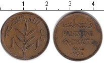 Изображение Монеты Палестина 1 мил 1944 Медь XF