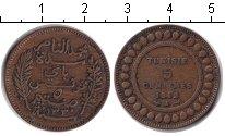 Изображение Монеты Тунис 5 сентим 1912 Медь