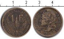Изображение Монеты Того 1 франк 1925 Медь