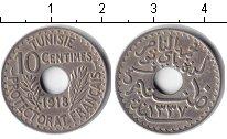 Изображение Монеты Тунис 10 сантимов 1918 Медно-никель  Французский протекто