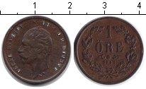 Изображение Монеты Швеция 1 эре 1858 Медь VF Оскар