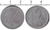 Изображение Монеты Индокитай 10 центов 1945 Медно-никель XF