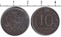 Изображение Монеты Польша 10 фенигов 1917 Железо