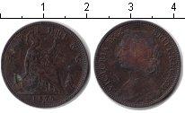 Изображение Монеты Великобритания 1 фартинг 1875 Медь
