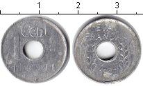 Изображение Монеты Индокитай 1 цент 1943 Алюминий