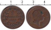 Изображение Монеты Баден 1 крейцер 1856 Медь