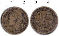 Изображение Монеты Того 1 франк 1925  VF
