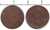 Изображение Монеты Данциг 1 пфенниг 1926 Медь XF