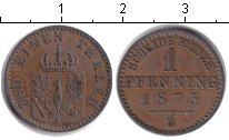 Изображение Монеты Пруссия 1 пфенниг 1873 Медь XF