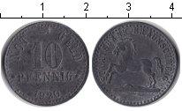 Изображение Монеты Нотгельды 10 пфеннигов 1920 Цинк