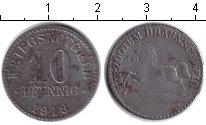 Изображение Монеты Нотгельды 10 пфеннигов 1918 Цинк