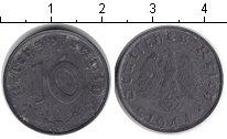Изображение Монеты Третий Рейх 10 пфеннигов 1944 Цинк VF Е