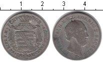Изображение Монеты Саксония 1/6 талера 1842 Серебро VF