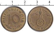Изображение Монеты Третий Рейх 10 пфеннигов 1938 Медь XF G.