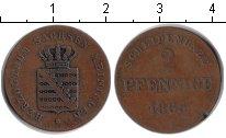 Изображение Монеты Саксен-Майнинген 2 пфеннига 1865 Медь
