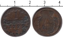 Изображение Монеты Саксония 1 пфенниг 1779 Медь VF