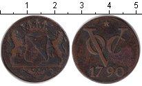 Изображение Монеты Нидерландская Индия 1 дьюит 1790 Медь VF