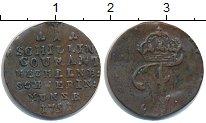 Изображение Монеты Мекленбург-Шверин 1 шиллинг 1791 Медь VF