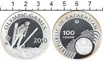 Изображение Монеты Казахстан 100 тенге 2008 Серебро Proof-